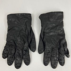 Aris | Cashmere Lined Leather Gloves | Sz 7.5